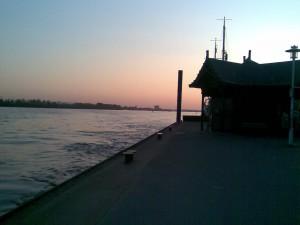 Övelgönne am Pier