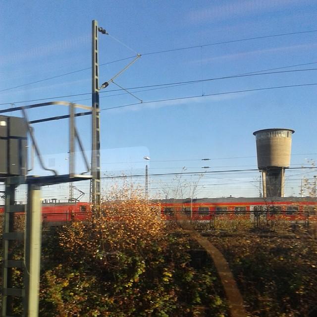 Unterwegs in Hamburg bei Sonnenschein