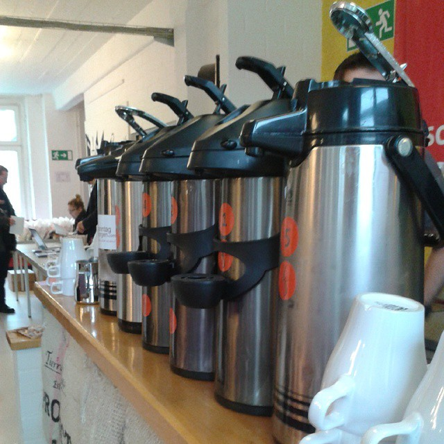 Coffee auf dem #ccb14