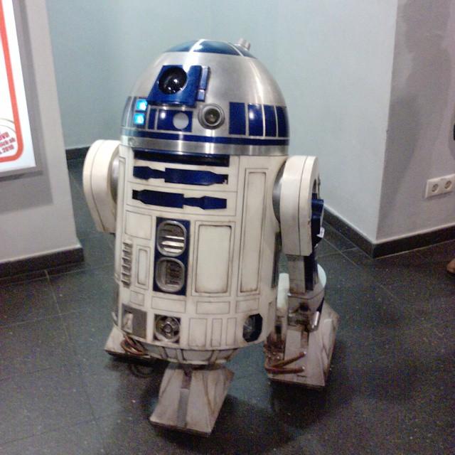 R2-D2, so einen hätte ich gerne. #starwars