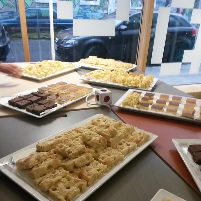 Kuchen #fbcamp ein Dank an alle Sponsoren