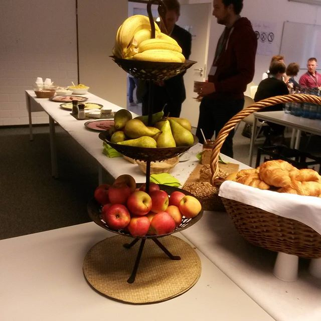 Frühstück auf dem #ccb2015
