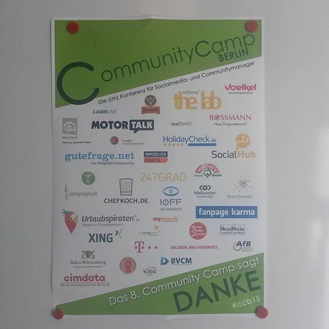 Community Camp #ccb2015