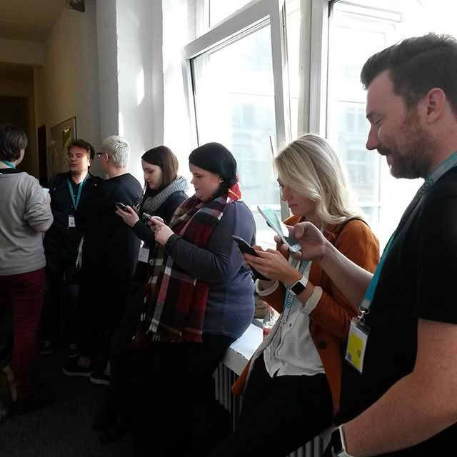 Handynutzung auf dem #ccb2015