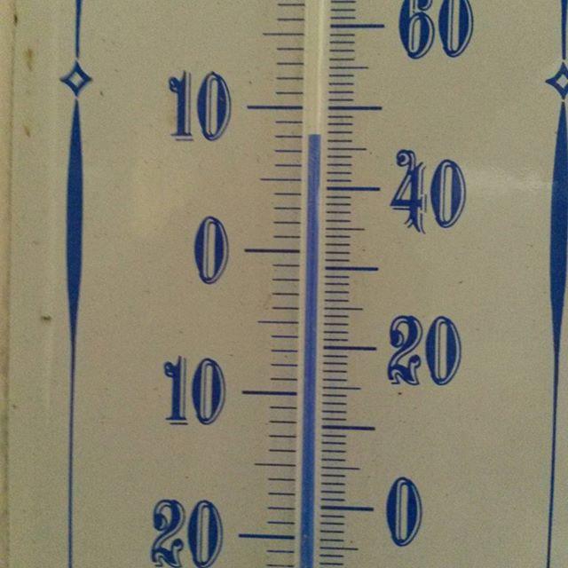 Ganz schön warm für die Jahreszeit.