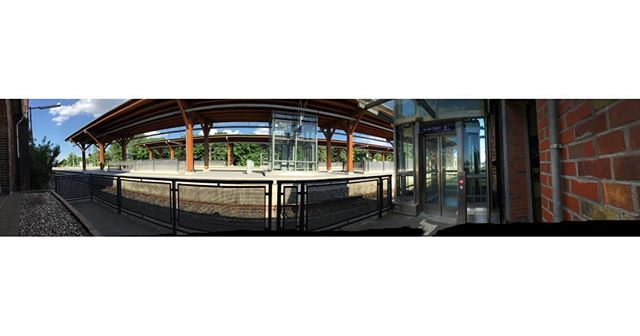 Bahnhof Niebüll #bahnhof #niebüll #unterwegs #sh #reisen