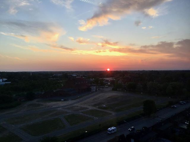Sonnenuntergang #sonnenuntergang #unterwegs #roterhimmel