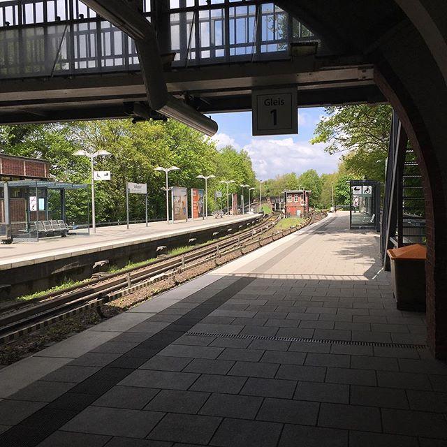U-Bahn Volksdorf.#Volksdorf #ubahn