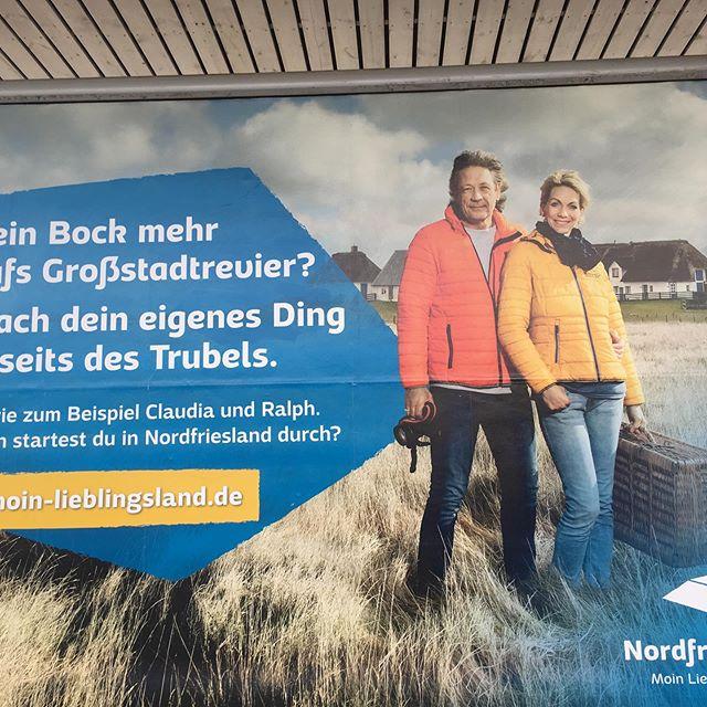 Am Bahnhof Altona gefunden. #nf #nordsee #nf_lieben #altona