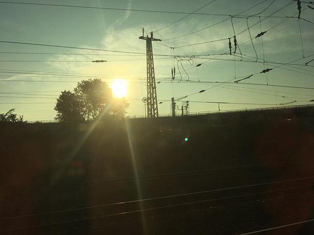 Heute mal wieder unterwegs. #unterwegs #sonne