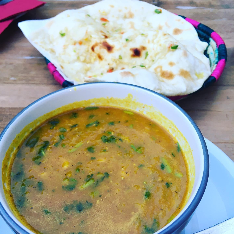 Leckere Linsensuppe auf indische Art. #essen #linsensuppe